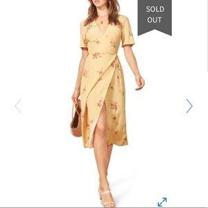 Reformation Jensen Wrap Dress